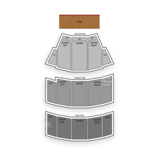Selena Auditorium Seating Chart Comedy