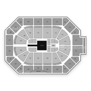 Allstate Arena Seating Chart Family