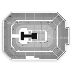 Allstate Arena Seating Chart Wrestling