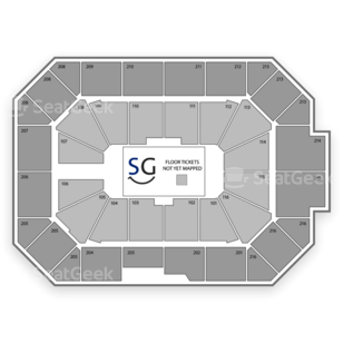 Allstate Arena Seating Chart Music Festival