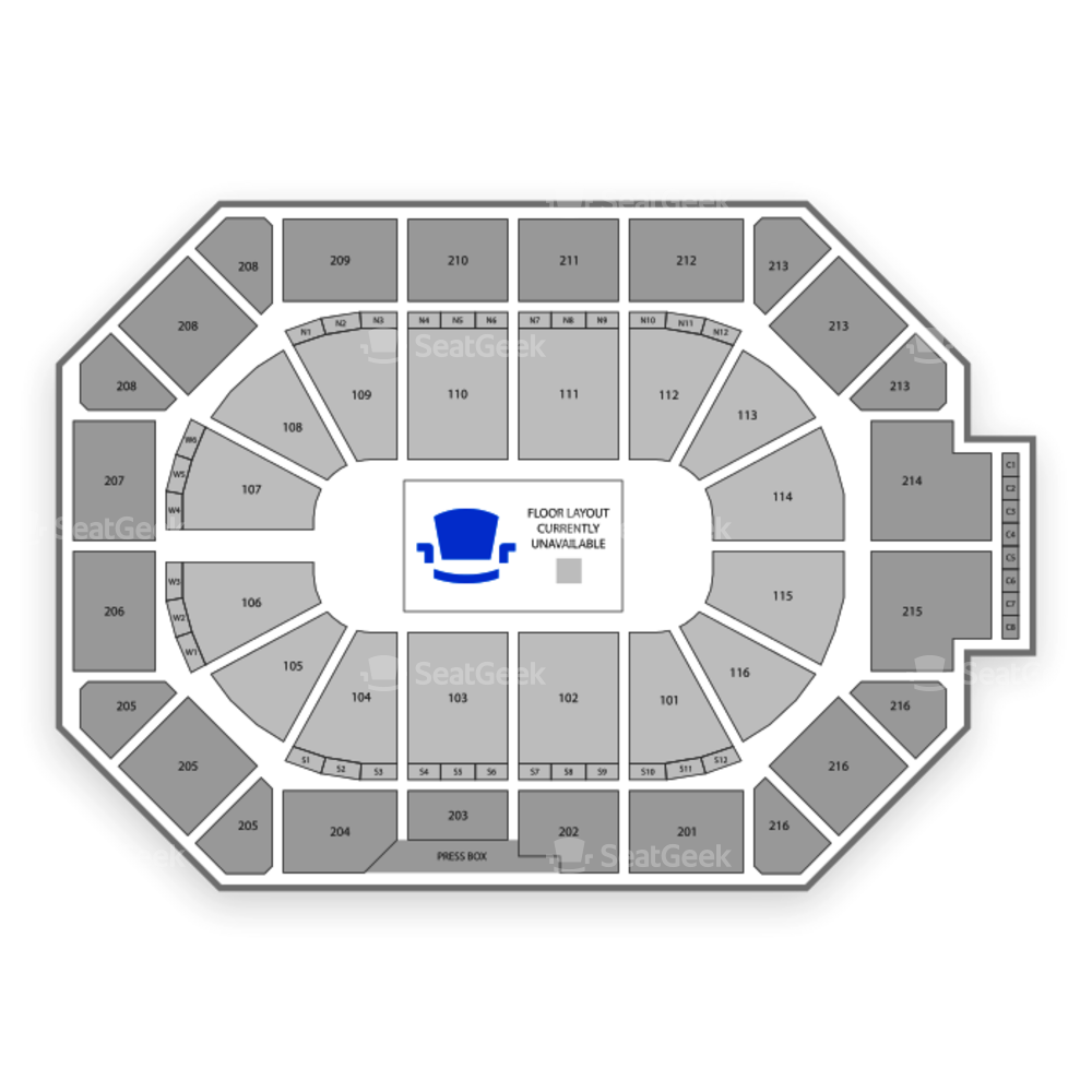Allstate Arena Seating Chart Comedy