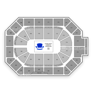 Allstate Arena Seating Chart Fighting
