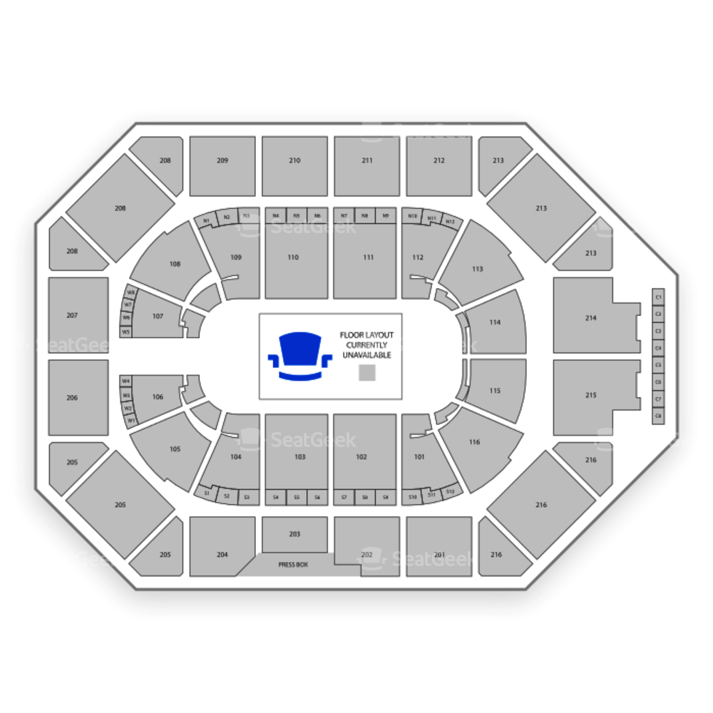 Allstate Arena Seating Chart Theater