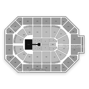 Allstate Arena Seating Chart Concert