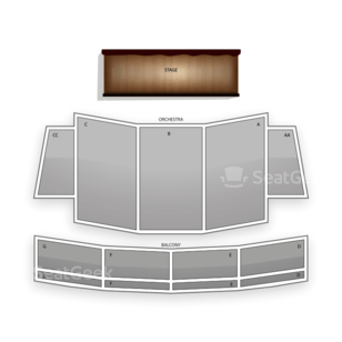 California Theatre of the Performing Arts Seating Chart Classical