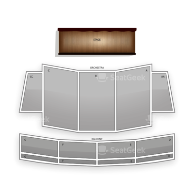 California Theatre of the Performing Arts seating chart Starlight Express