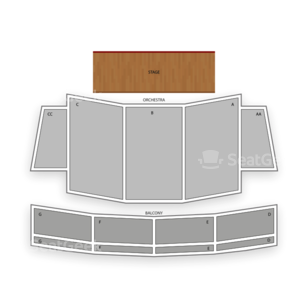 California Theatre of the Performing Arts Seating Chart Theater