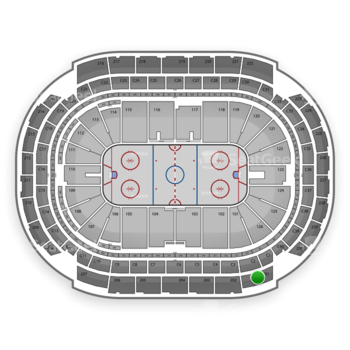 NHL at Xcel Energy Center Section 201 View
