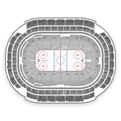 Xcel Energy Center seating chart Minnesota Wild
