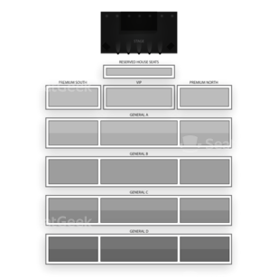 WinStar World Casino Seating Chart Dance Performance Tour