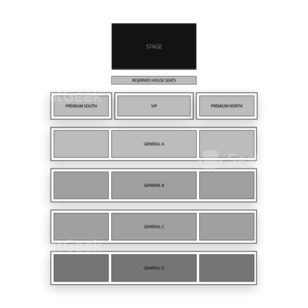 WinStar World Casino Seating Chart Theater