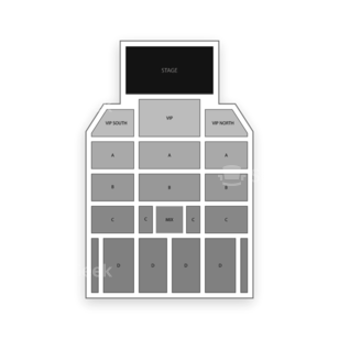 WinStar World Casino Seating Chart MMA
