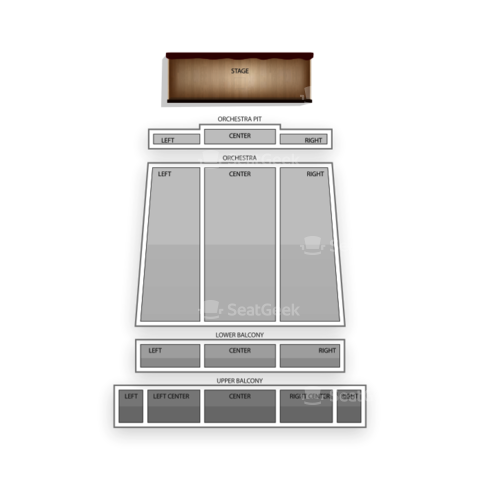 Bakersfield Fox Theater seating chart Eli Young Band