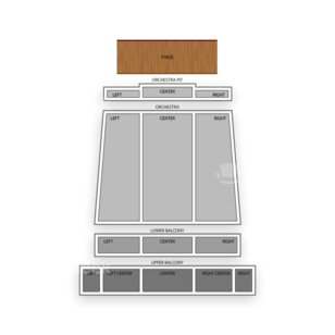 Bakersfield Fox Theater Seating Chart Classical