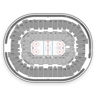 Joe Louis Arena Seating Chart NCAA Hockey