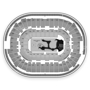 Joe Louis Arena Seating Chart Concert