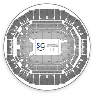 FedExForum Seating Chart Concert