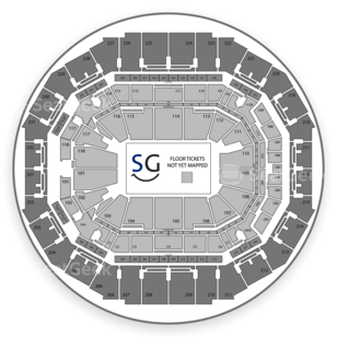 FedExForum Seating Chart Music Festival