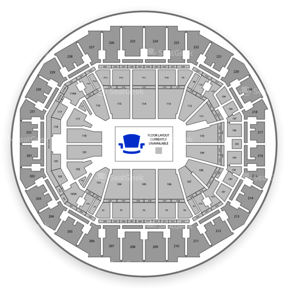 FedExForum Seating Chart Boxing