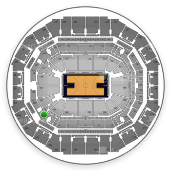 Memphis Grizzlies at FedExForum 103 A View