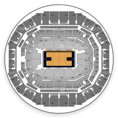 FedExForum seating chart Memphis Grizzlies