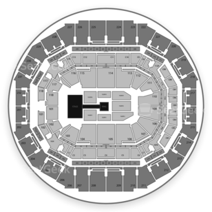 FedExForum Seating Chart Wrestling
