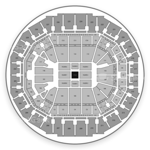 FedExForum Seating Chart Comedy