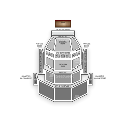 Gallo Center For The Arts Seating Chart