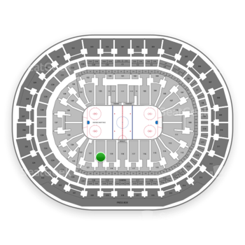 Florida Panthers at BB&T Center Section 120 View