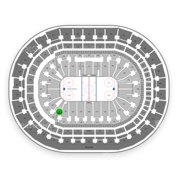 Florida Panthers at BB&T Center Section 122 View