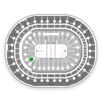 Florida Panthers at BB&T Center Section 124 View