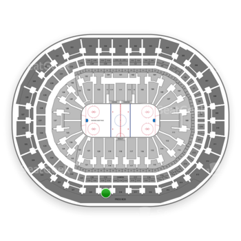 Florida Panthers at BB&T Center Section 319 View