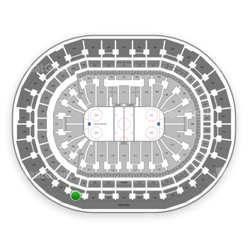 Florida Panthers at BB&T Center Section 321 View