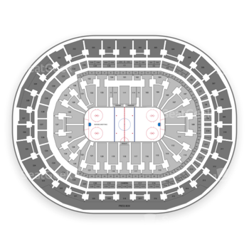 Florida Panthers at BB&T Center Section 434 View