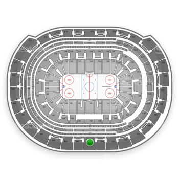Florida Panthers at BB&T Center Section 301 View