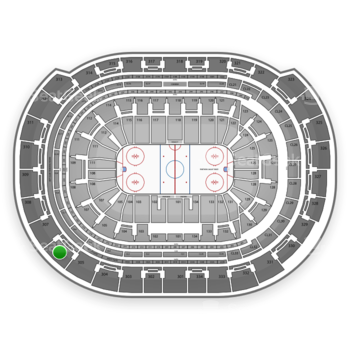 Florida Panthers at BB&T Center Section 306 View
