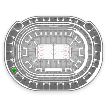 Florida Panthers at BB&T Center Section 307 View