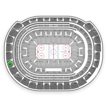 Florida Panthers at BB&T Center Section 308 View