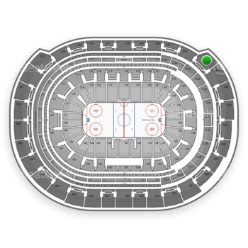 Florida Panthers at BB&T Center Section 323 View