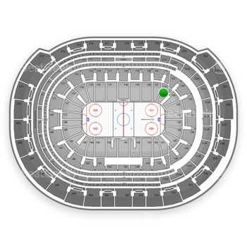 NHL at BB&T Center Section 122 View