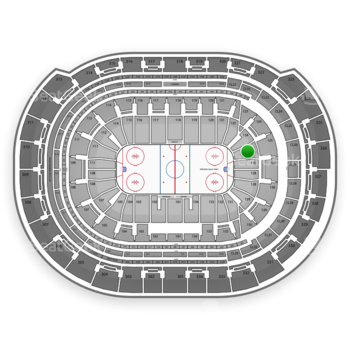 NHL at BB&T Center Section 125 View