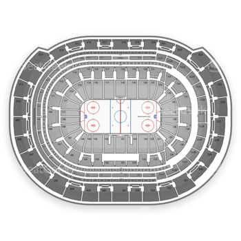 NHL at BB&T Center Section 416 View