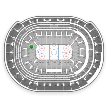 Florida Panthers at BB&T Center Section 111 View