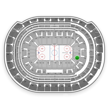 Florida Panthers at BB&T Center Section 128 View