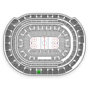 Florida Panthers at BB&T Center Section 302 View