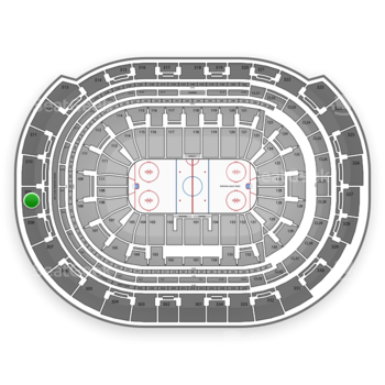 Florida Panthers at BB&T Center Section 309 View