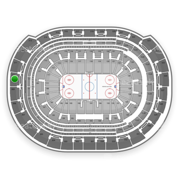 Florida Panthers at BB&T Center Section 310 View