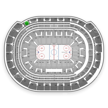 Florida Panthers at BB&T Center Section 314 View