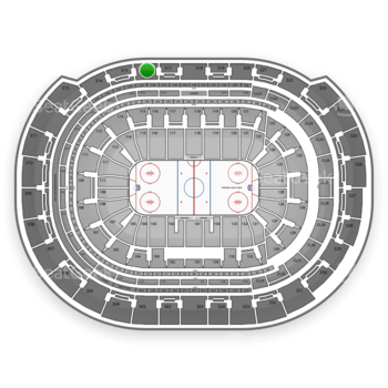 Florida Panthers at BB&T Center Section 316 View