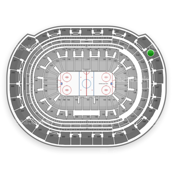 Florida Panthers at BB&T Center Section 324 View